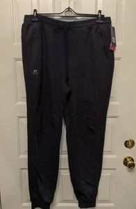 NWT. MEN'S RUSSELL ATHLETIC SWEATPANTS. CHARCOAL